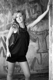 Beautiful fashion girl photo Stock Photo