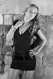 Beautiful fashion girl photo Royalty Free Stock Images