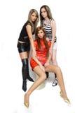 Beautiful fashion girls Stock Images