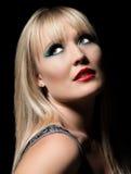 Beautiful fashion glamor woman Stock Photography
