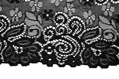 Beautiful fashion lace Royalty Free Stock Images