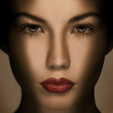 Beautiful Fashion Luxury Makeup royalty free stock photos