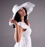 Beautiful fashion model Royalty Free Stock Images