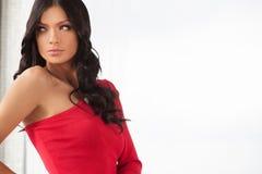 Beautiful fashion model. Stock Photo