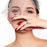 Beautiful and fashion model stock images