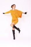 Beautiful Fashion Model Posing Royalty Free Stock Photo