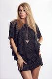 Beautiful fashion model posing Royalty Free Stock Images