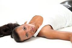 Beautiful Fashion Model - Young Woman Stock Photography