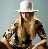 Beautiful Fashion Woman Royalty Free Stock Image