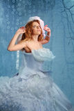 Beautiful Fashion Woman Fairy Bride Stock Images
