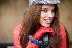 Beautiful fashion woman Royalty Free Stock Photos