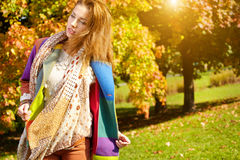 Beautiful fashion woman Stock Image