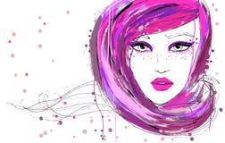 Beautiful fashion women Royalty Free Stock Photography
