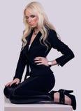 Beautiful fashionable girl model posing Stock Photo