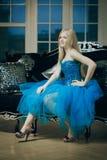 Beautiful fashionable luxury woman Royalty Free Stock Photos