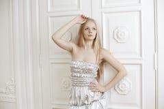 Beautiful fashionable luxury woman Royalty Free Stock Image