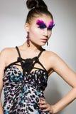 Beautiful fashionable woman Stock Images