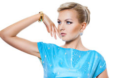 Beautiful fashionable woman Stock Image