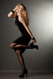 Beautiful fashionable woman Royalty Free Stock Images