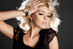 Beautiful fashionable woman Royalty Free Stock Photo
