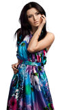 Beautiful fashionable woman Stock Photography
