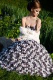 Beautiful fashionable woman Stock Photo