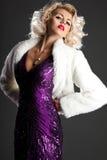 Beautiful fashionable woman Royalty Free Stock Photos
