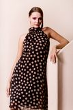 Beautiful fashionable young woman Royalty Free Stock Images