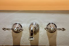 Beautiful Faucets Royalty Free Stock Photos