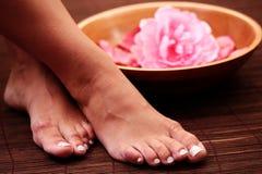 Beautiful feet royalty free stock image