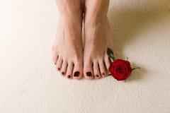 Beautiful Feet Stock Photography
