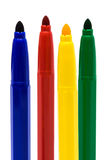 Beautiful felt-tip pens Royalty Free Stock Images