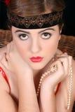 Beautiful female Stock Photography