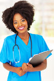 African medical professional Stock Images