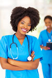 African medical workers Stock Photos