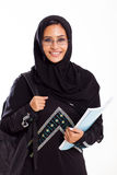 Arabian university student Stock Image