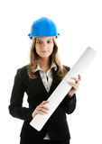 Beautiful female architect Stock Photos