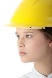 Beautiful female architect Royalty Free Stock Photo