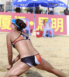 Beautiful female athlete chenchen Royalty Free Stock Images