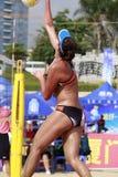 Beautiful female athlete chenchen Royalty Free Stock Photo