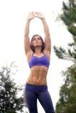 Beautiful Female Athlete Outdoors (4) Stock Photos