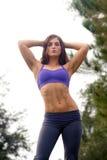 Beautiful Female Athlete Outdoors (5) Stock Photos