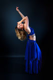 Beautiful female belly dancer Royalty Free Stock Photos