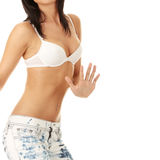 Beautiful female body Stock Photography