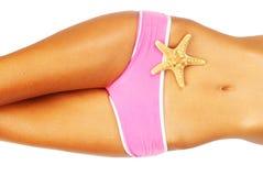 Beautiful female body Stock Photography