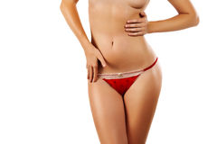 Beautiful female body Royalty Free Stock Photography