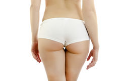 Beautiful Female Body Back Ass. Royalty Free Stock Photography
