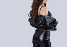 Beautiful female body Stock Photos