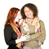 Beautiful Female Couple Laughing Stock Images