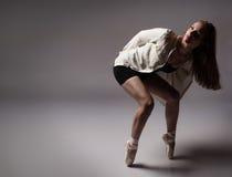Beautiful female dancer Royalty Free Stock Image